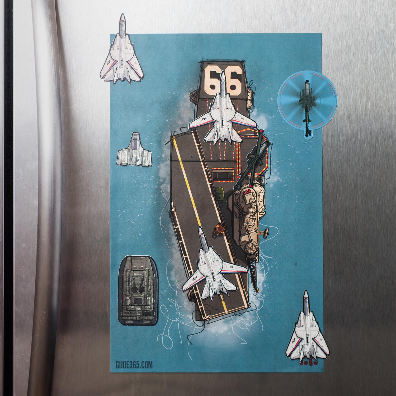 GIJOE365 FLAGG Magnet Play Set