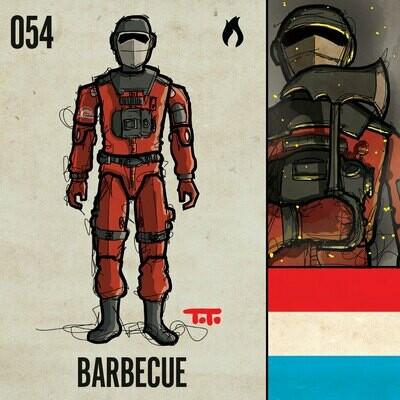 G365 SQ-054 BARBECUE