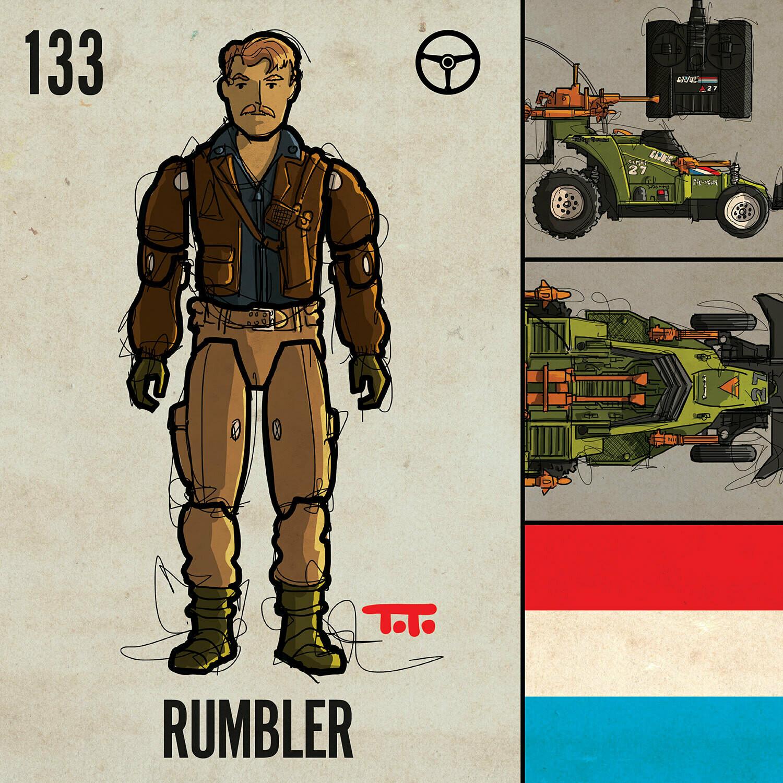 G365 SQ-133 RUMBLER