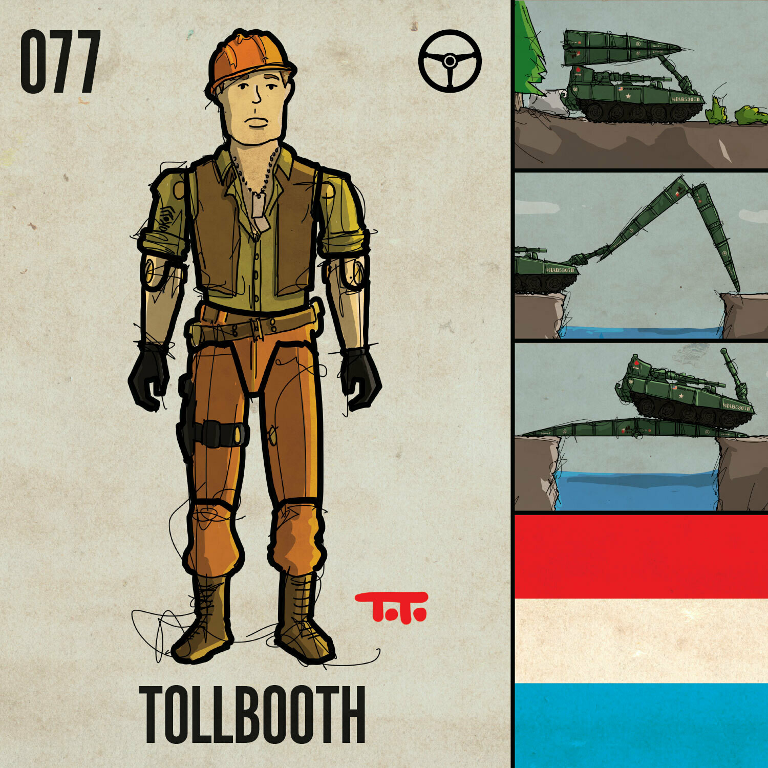G365 SQ-077 TOLLBOOTH