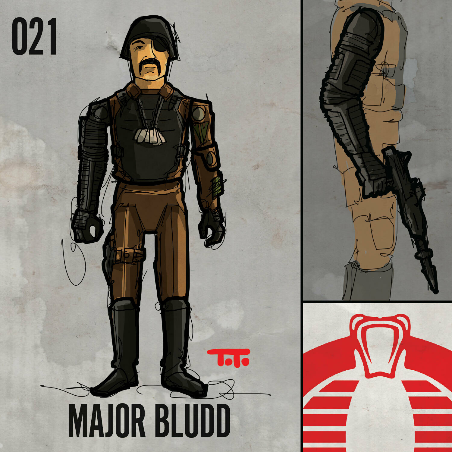 G365 SQ-021 MAJOR BLUDD