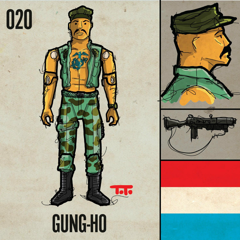 G365 SQ-020 GUNG-HO