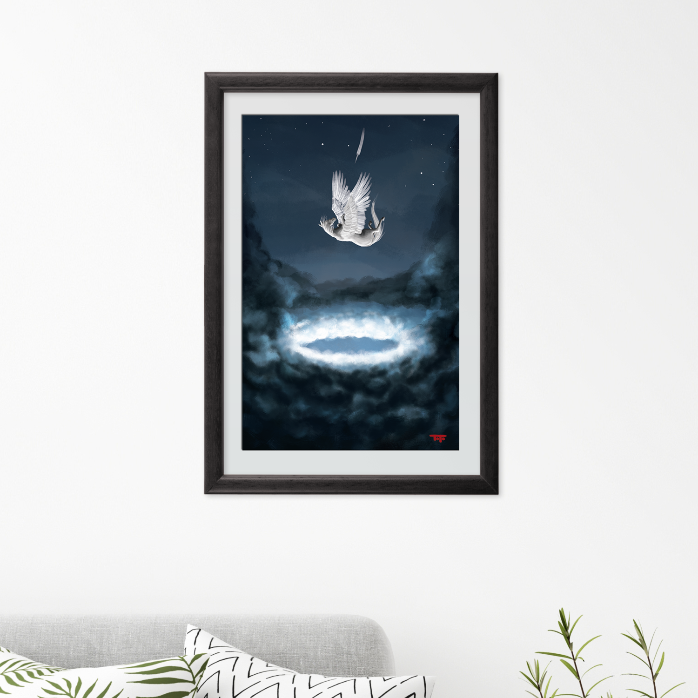 """The Fall of Pegasus"" Poster"