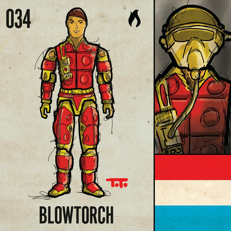 G365 SQ-034 BLOWTORCH
