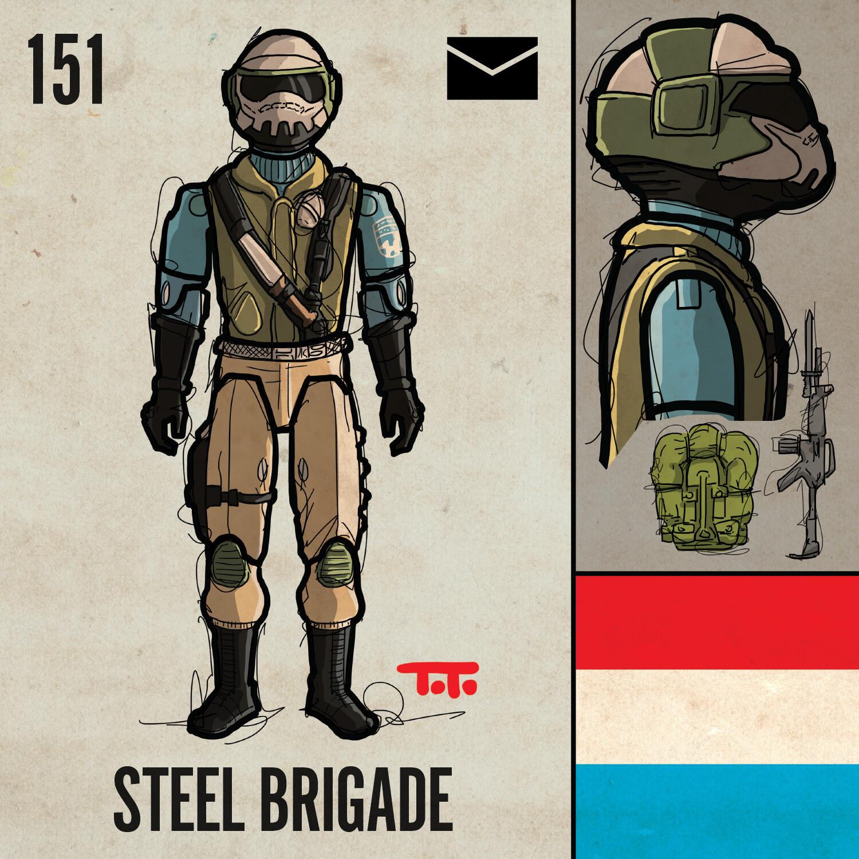 G365 SQ-151 STEEL BRIGADE