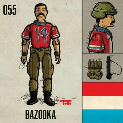 G365 SQ-055 BAZOOKA