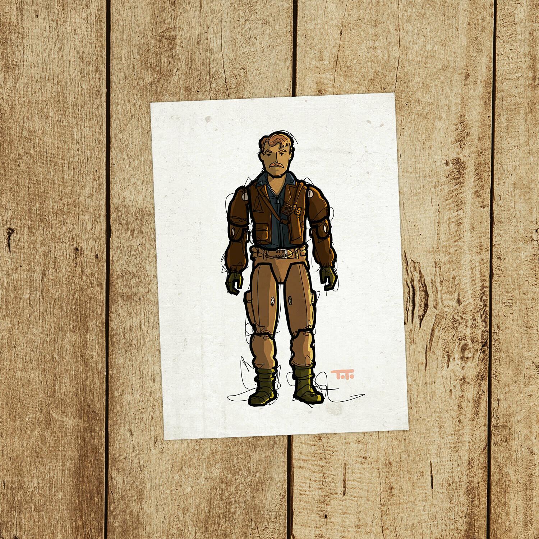 """GIJOE365 133: """"Rumbler"""" prints"""