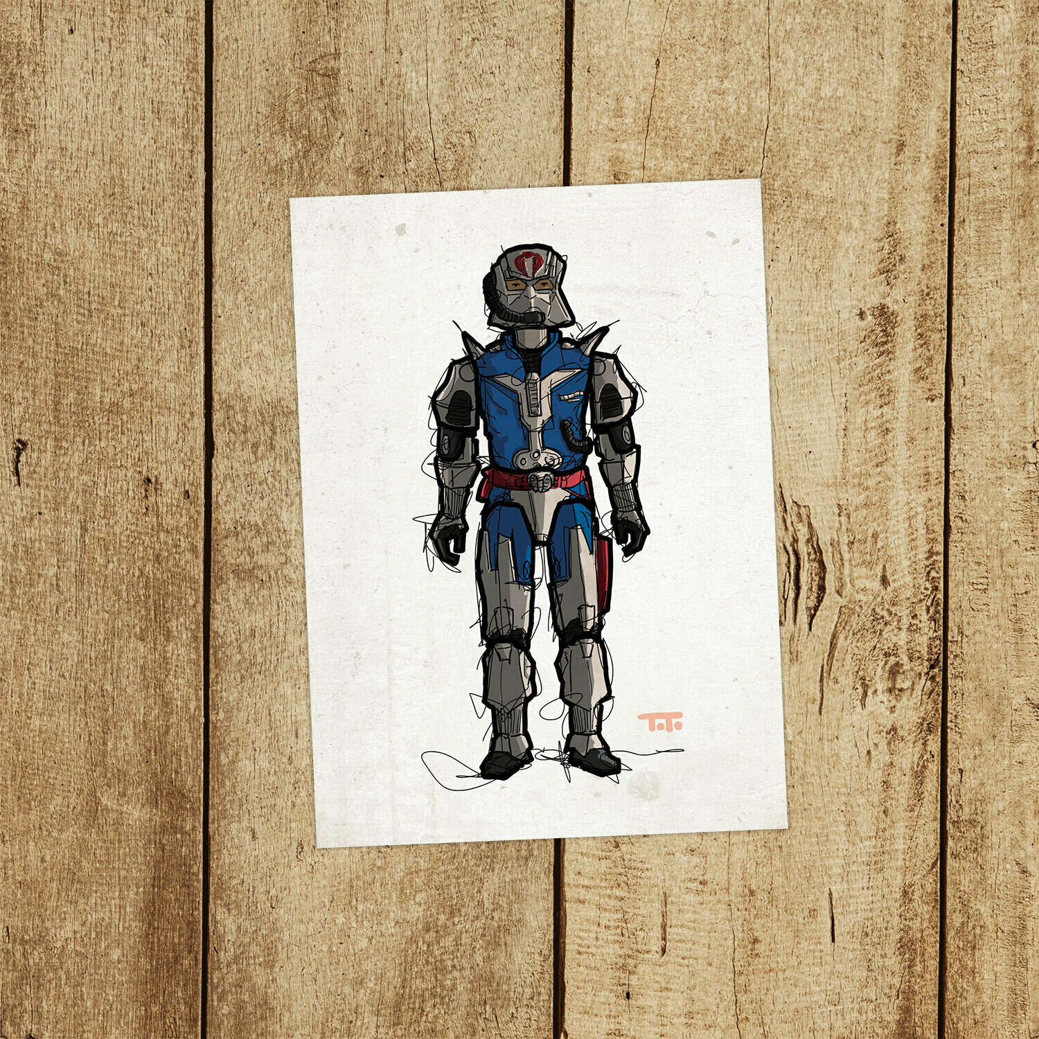 "GIJOE365 113: ""Cobra Commander v3"" prints"