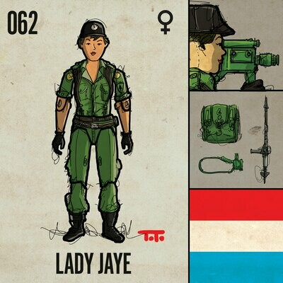 G365 SQ-062 LADY JAYE