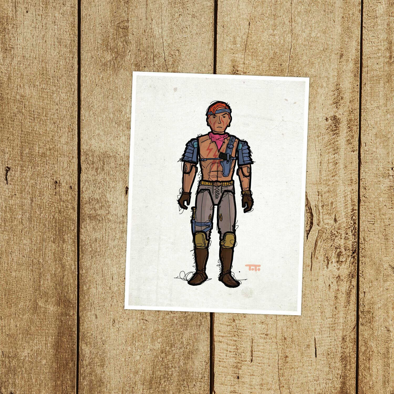 """GIJOE365 094: """"Zandar"""" prints"""