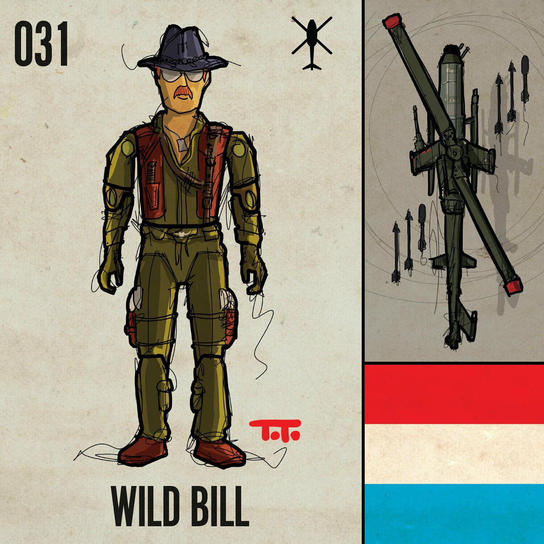 G365 SQ-031 WILD BILL