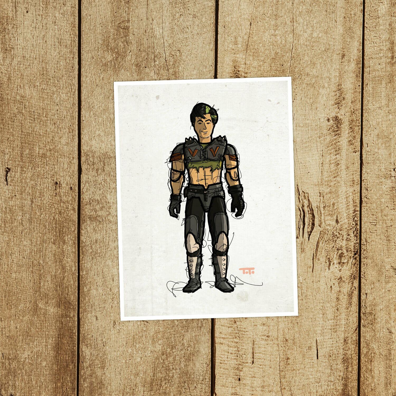 """GIJOE365 109: """"Thrasher"""" prints"""