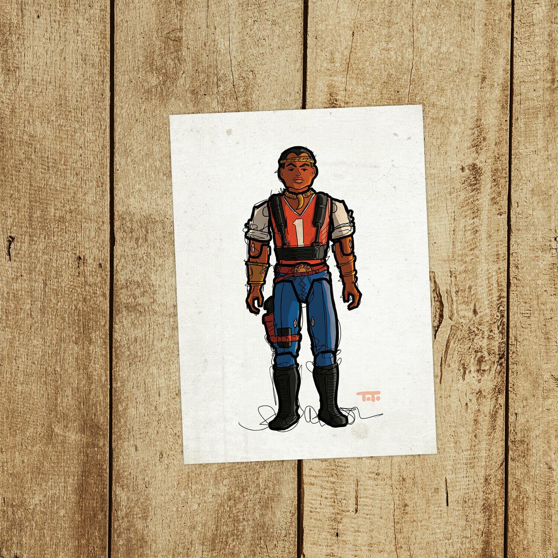 "GIJOE365 139: ""Red Dog"" prints"