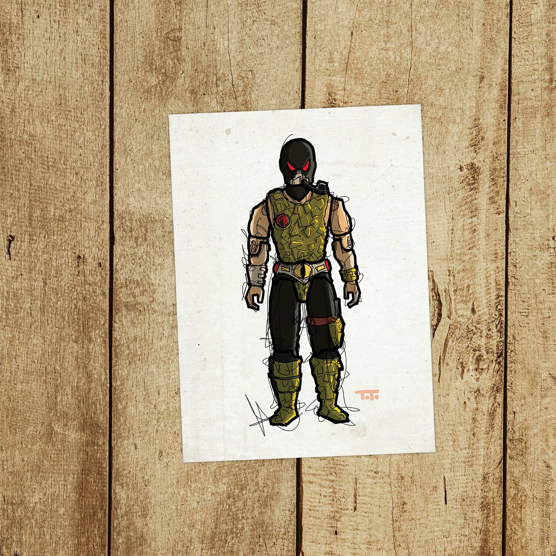 "GIJOE365 115: ""Croc Master"" prints"