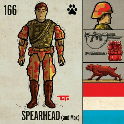 G365 SQ-166 SPEARHEAD & MAX