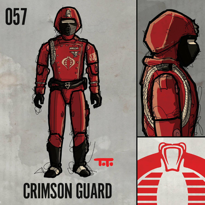 G365 SQ-057 CRIMSON GUARD
