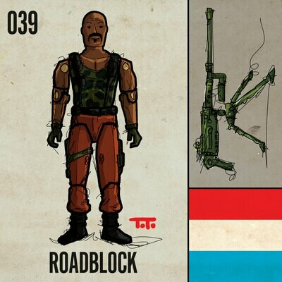 G365 SQ-039 ROADBLOCK