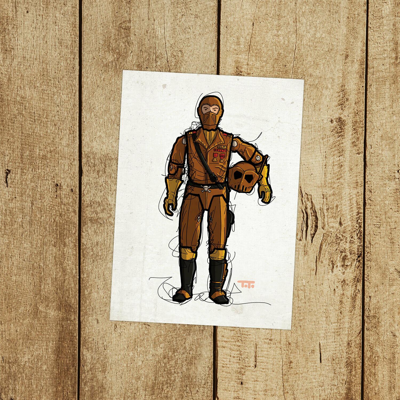 """GIJOE365 136: """"W.O.R.M.S."""" prints"""