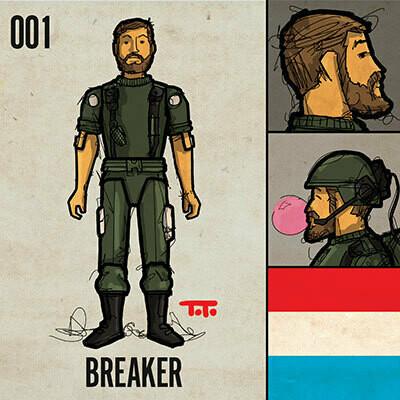 G365 SQ-001 BREAKER