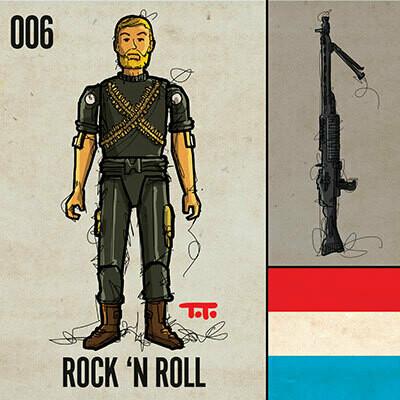 G365 SQ-006 ROCK 'N ROLL