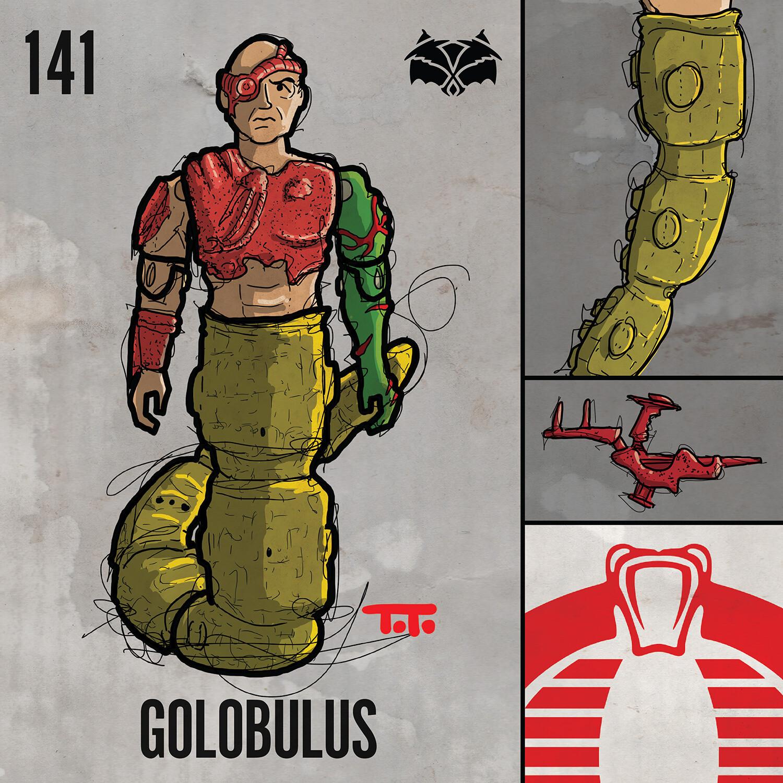 G365 SQ-141 GOLOBULUS