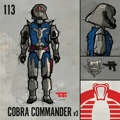 G365 SQ-113 COBRA COMMANDER v3