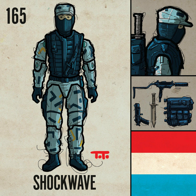 G365 SQ-165 SHOCKWAVE