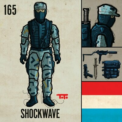 G365 SQ-165 SHOCKWAVE
