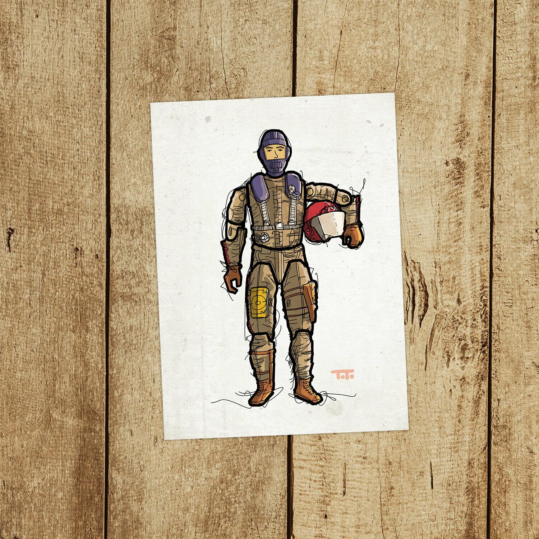 "GIJOE365 129: ""Gyro-Viper"" prints"