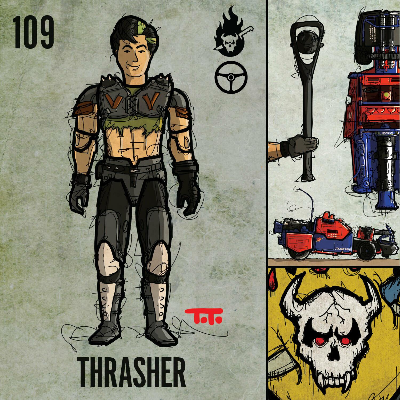 G365 SQ-109 THRASHER