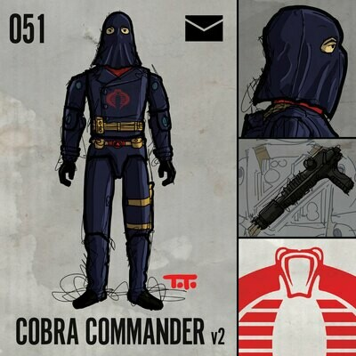 G365 SQ-051 COBRA COMMANDER v2
