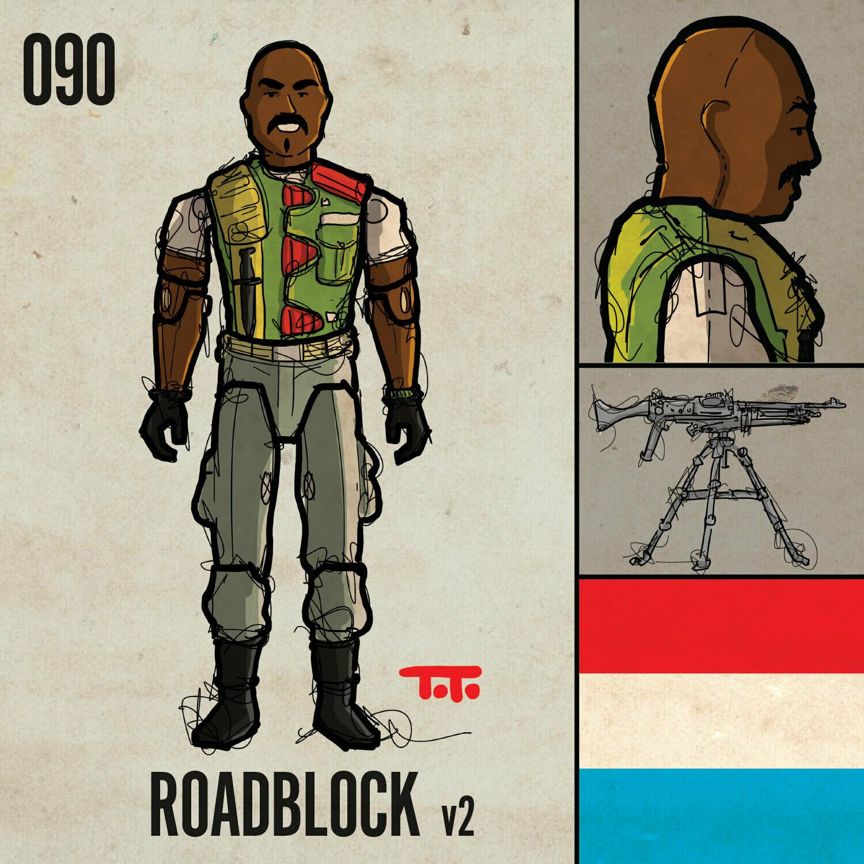 G365 SQ-090 ROADBLOCK v2