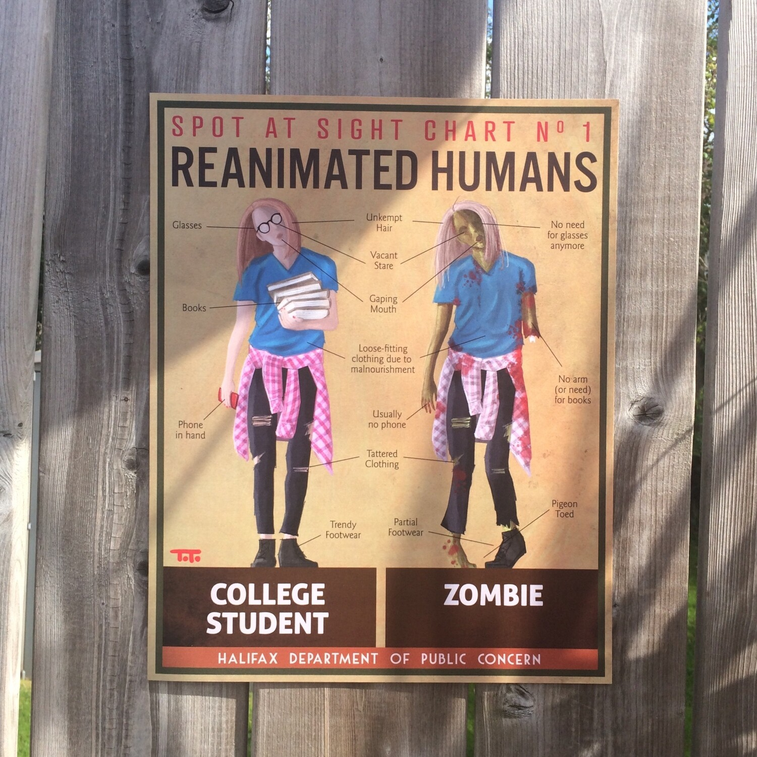 HW - POSTER - Zombie / Student