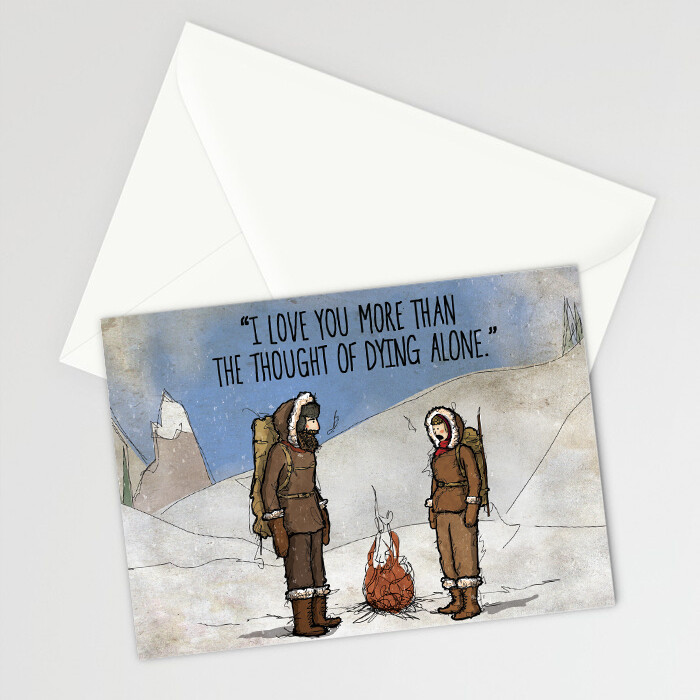 DID - CARD - Dying Alone