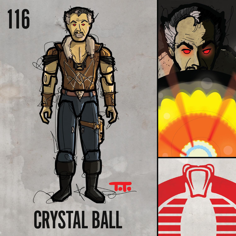 G365 SQ-116 CRYSTAL BALL