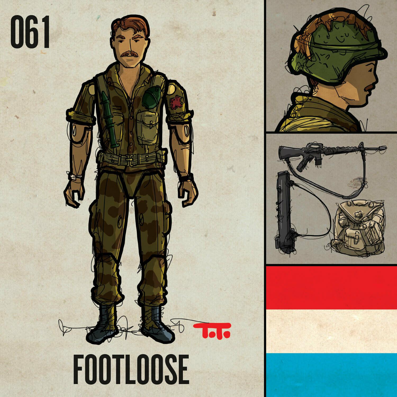 G365 SQ-061 FOOTLOOSE