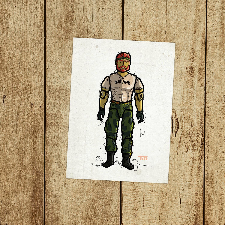 "GIJOE365 122: ""Outback"" prints"