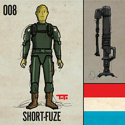 G365 SQ-008 SHORT-FUZE