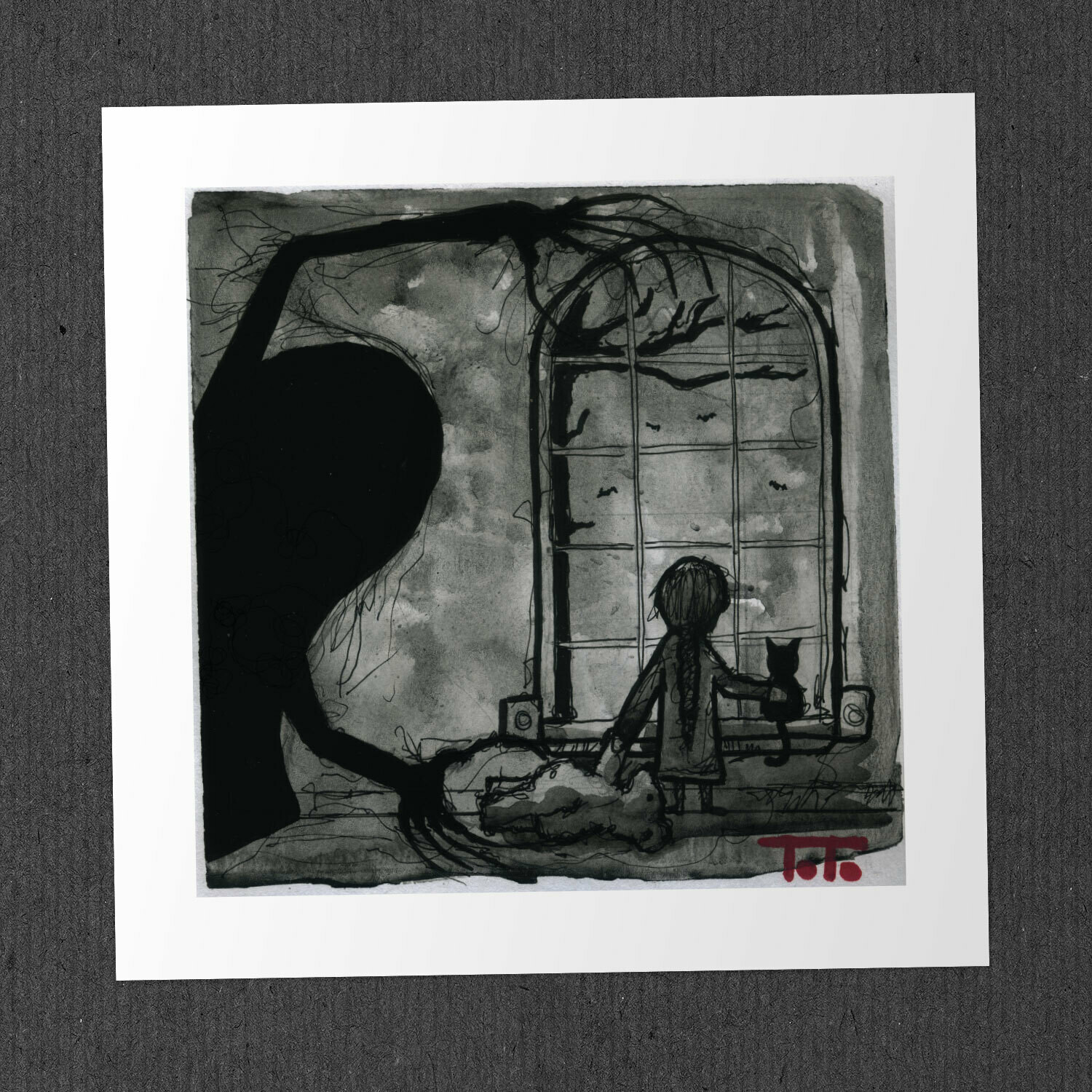 "Poor Perceval - ""WINDOW"" Print"