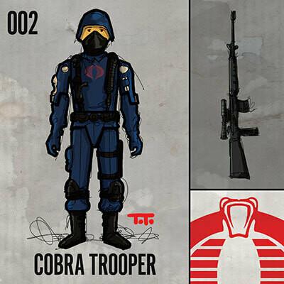 G365 SQ-002 COBRA TROOPER