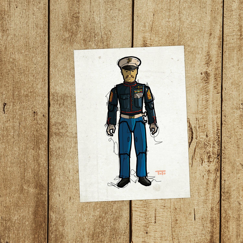 """GIJOE365 119: """"Gung-Ho v2"""" prints"""