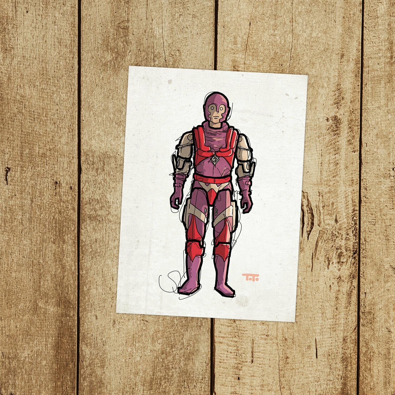 """GIJOE365 142: """"Nemesis Enforcer"""" prints"""