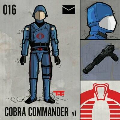 G365 SQ-016 COBRA COMMANDER v1