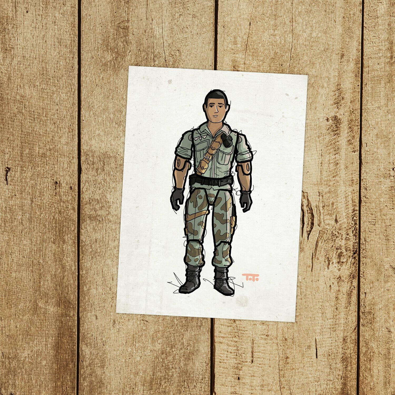 """GIJOE365 150: """"Starduster"""" prints"""