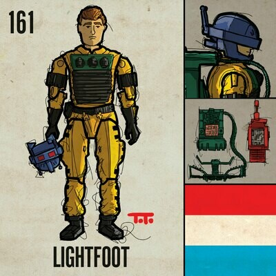 G365 SQ-161 LIGHTFOOT