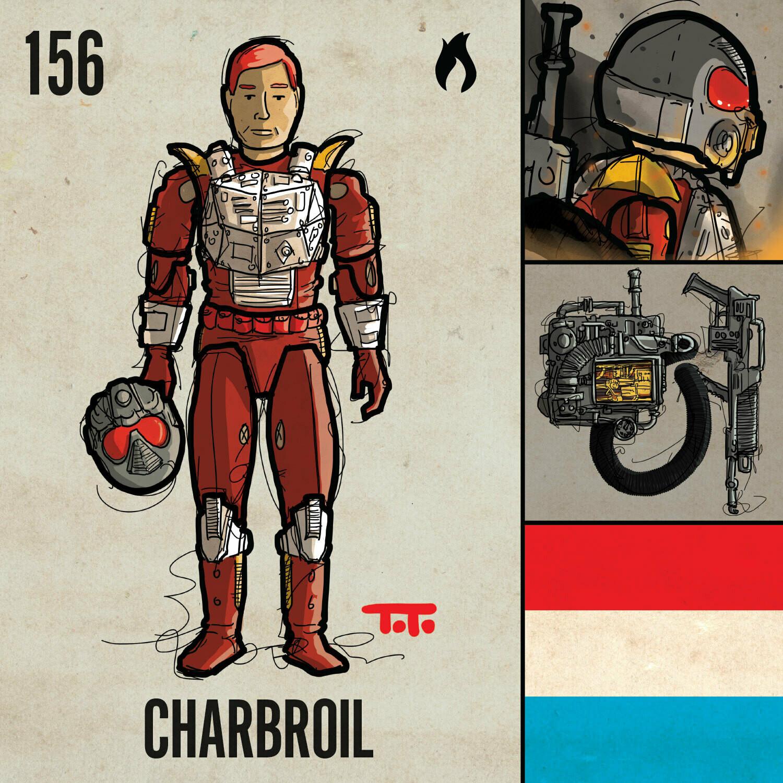 G365 SQ-156 CHARBROIL