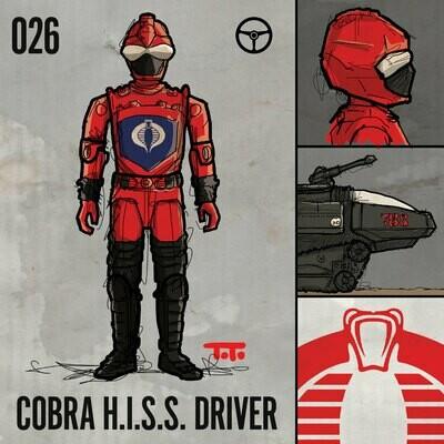 G365 SQ-026 HISS DRIVER