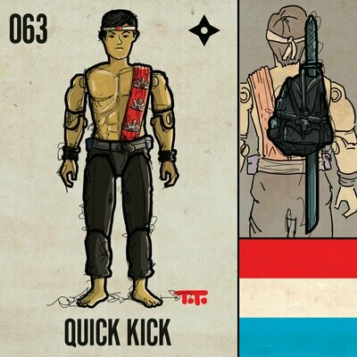G365 SQ-063 QUICK KICK
