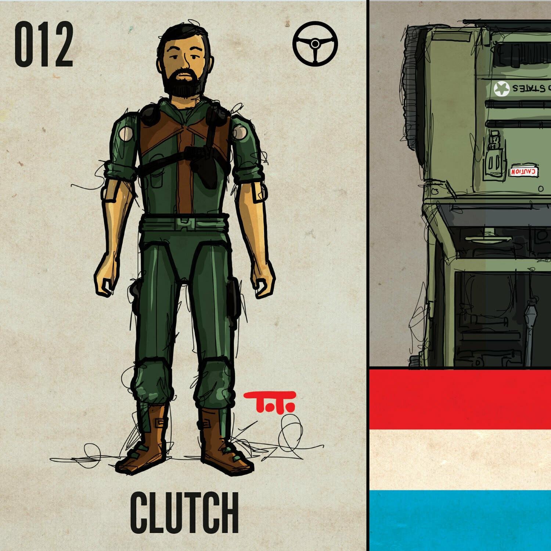 G365 SQ-012 CLUTCH