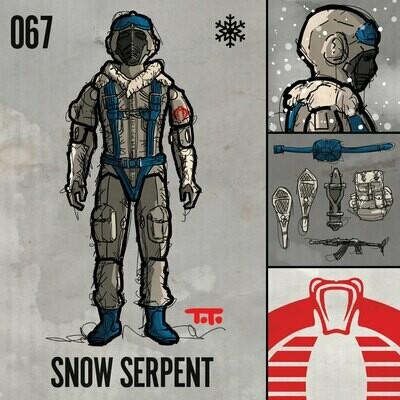 G365 SQ-067 SNOW SERPENT